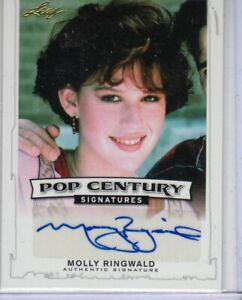 """2014 LEAF POP CENTURY MOLLY RINGWALD  """"16 CANDLES/PRETTY IN PINK"""" AUTOGRAPH AUTO"""