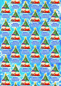 SOUTH PARK Personalised Christmas Gift Wrap - Stan Cartman Wrapping Paper - A2