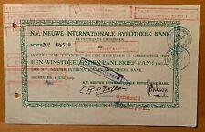 Nieuwe Internationale Hypotheek Bank - Groningen
