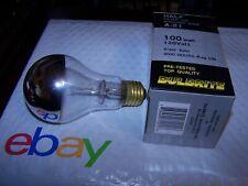 Bulbrite HALF Silver Top Mirrored Bulb 100 Watt Brass Base