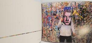 """Robert Combas. Le mur """" à l'emporte pièce"""" 2000"""