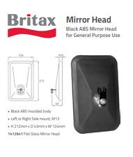 NEW BRITAX (AH41) HEAD MIRROR TRUCK PAINTED RECT 203 X 114.0MM 1412641