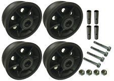 4 Heavy Duty Caster Wheels Set 4 5 6 8 V Groove Wheel Set With Bearingampkit