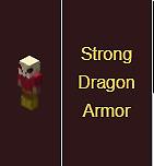 Minecraft Hypixel Skyblock  Strong Dragon Armor (Full Set)