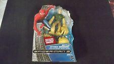 2007 Spider-man 3 Battle Attack Sandman Interchangeable Sealed Marvel Hasbro NIB