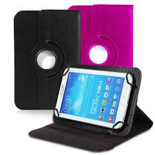 Tablet Case cover para Universal 7 pulgadas estuche kick stand función de soporte piel sintética