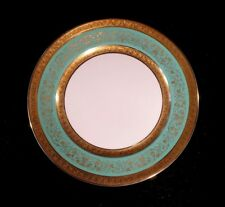 Stunning Antique Rosenthal Selb Plossberg Gold Encrusted Aida Lunch Plate