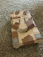Vintage 1993 Micro Machines Military USMC Battle Tank Playset Galoob Camouflage