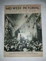 Mid Week Pictorial 4/11/36 Mussolini Shirley Temple Marsha Hunt Bobby Jones