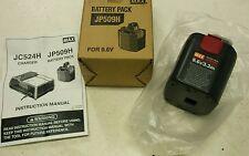 Max Rebar nivel JP509H 9.6 V Batería RB655