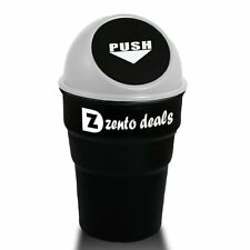 Zento Deals Portable Traveling Mini Car Garbage Can – Superb Quality Universal