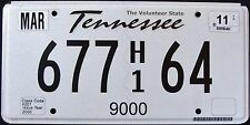 "TENNESSEE "" TRUCK WEIGHT LIMIT 9000 Lbs - VOLUNTEER STATE "" TN  License Plate"