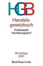 Handelsgesetzbuch HGB (2021, Taschenbuch)