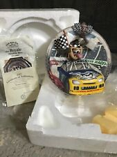 Bradford Exchange Taz Racing Collector's Plate Nib *Charity*