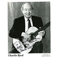 Charlie Byrd Autographed / Signed 8x10 Photo