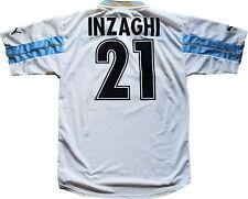 maglia Lazio INZAGHIvintage Puma Cirio 1999 2000 100 anni shirt jersey M