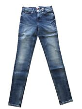 Tommy Hilfiger Mid Rise Skinny Nora Jeans 4500223477 blau