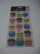 Scrapbooking Crafts Stickers Stickos Cupcakes Repeats Frosting Glitter Sprinkles