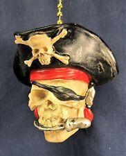 Pirate Skull Ceiling Fan or Light Pull Home Decor