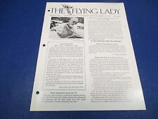 The Flying Lady Rolls-Royce Magazine March 1980, Ghost, Jerry Howell