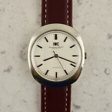 Vintage C.1960 IWC Automatic ref. R 815 linen dial watch cal. 854 in steel