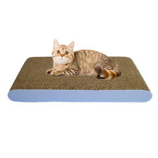 Cat Kitten Cardboard Corrugated Scratcher Scratching Pad Bed Board Mat Toys New