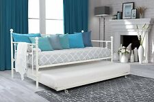 DHP Manila Twin Size Daybed and Twin Size Trundle in White 4015159 New
