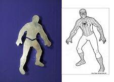 "Novelty Baking Tins - Spider Man Cake Tin - 3"" Deep - 2 Part"