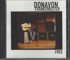 Free By Donavon Frankenreiter (CD Single, 2004) Promotional CD
