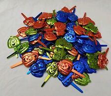 Vintage NOS Lot of 80 Halloween Cake & Cupcake Picks Toppers deco pics