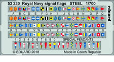 Eduard 1/700 Royal Navy Signal Flags Steel Parts (PE)