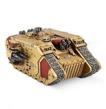 D Warhammer 40k Adeptus Custodes VENERABLE LAND RAIDER con istruzioni NO scatola