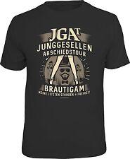 FUN T-SHIRT Junggesellen Bräutigam Geschenk mit witzigem Spruch Gr. S - XXL 6175