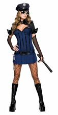 Sexy Night Watch Women Costume Deluxe Police Woman, X-Small, Extra Small