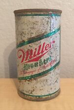Vintage Miller High Life 12 Oz Beer Can Breweriana 1960s Empty