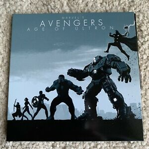 Avengers Age Of Ultron Blu Ray + 3D 2 Discs From Marvel Phase 2 Boxset