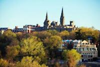 Georgetown University Campus Washington DC Photo Art Print Poster 24x36 inch