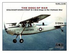 AOA decals 1/48 DOGS OF WAR USA/USAF/USMC/VNAF O-1 Bird Dogs in the Vietnam War