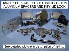 OEM LATCH for HARLEY DAVIDSON TOUR PACK KING CHOP RAZOR ULTRA ELECTRA CLAS LOCK