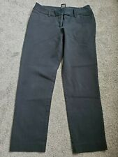 Women's Mossimo Black Cropped Dress Stretch Pants Size 8