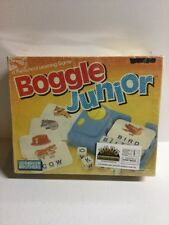 BOGGLE Junior Letters Preschool Learning Game by Parker Brothers 1988 Age 3-6 Jr