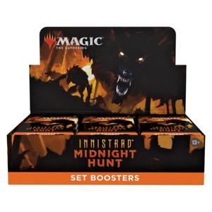 MTG Innistrad: Midnight Hunt Set Booster - Preorder - Ships  - 09/24