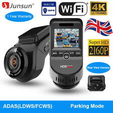 4K Ultra 2160P ADAS Dash Cam Dual Lens Car Camera WiFi DVR GPS Night Vision
