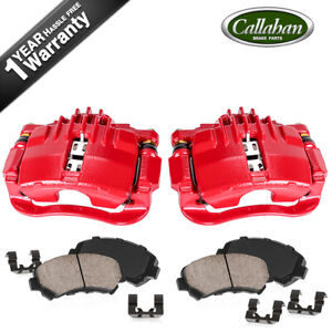 Rear Powder Coated Brake Calipers & Ceramic Pads For Chevy S10 GMC Jimmy Sonoma