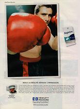 Publicité 1999  Imprimante HP DESKJET avec HP PhotoREt  HEWLETT PACKARD