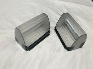 1968-1969 Lincoln Park Signal Lamp Lens Left & Right, Coupe/Sedan No Mk III NEW