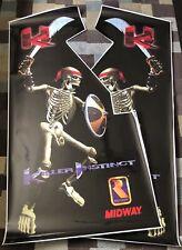 Killer Instinct Side Art Arcade Artwork Ki Decal Overlay Sticker Cpo Midway