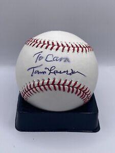 """Tommy """"Tom"""" Lasorda LA Dodgers Signed OML Baseball - JSA"""