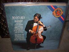 YO YO MA / BARBER / BRITTEN cello concerto / symphony ( classical ) digital