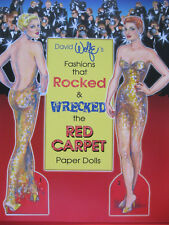 David Wolfe's FASHIONS THAT ROCKED & WRECKED THE RED CARPET Paper Doll Book